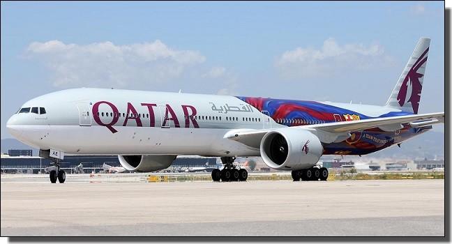 カタール航空バルサデザイン