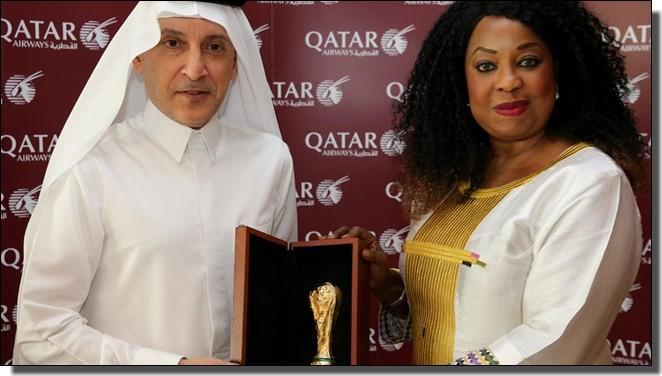 FIFAとカタール航空