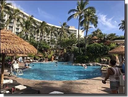 ハワイ旅行記のホテル