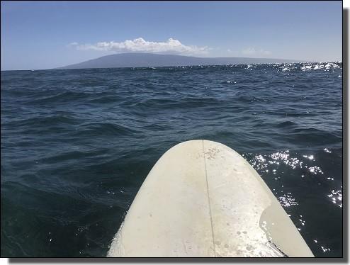 JALビジネスクラスで行くハワイ旅行でサーフィン