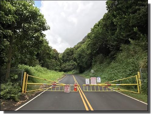 JALビジネスクラスで行くハワイの通行止め