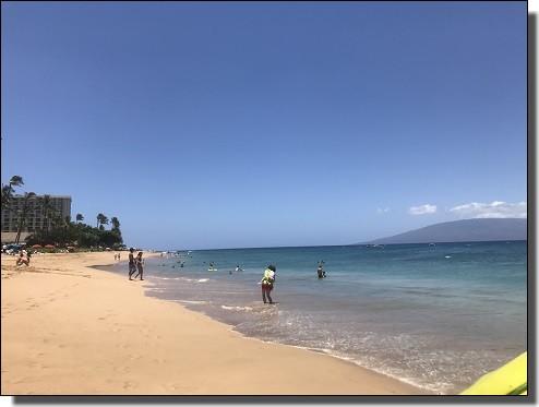 マウイ島カアナパリ