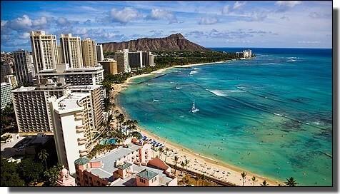 ビジネスクラスでハワイ旅行