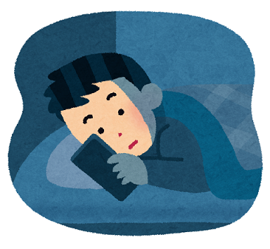 寝る前のモッピーアンケート