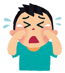 泣くオカちゃん