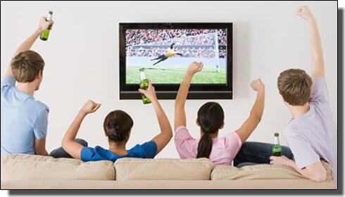 ワールドカップ最終予選をテレビ観戦