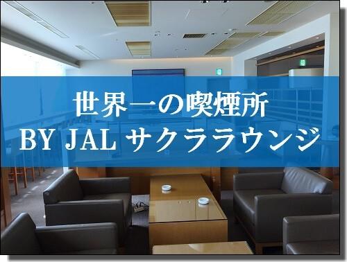 成田空港サクララウンジ喫煙所
