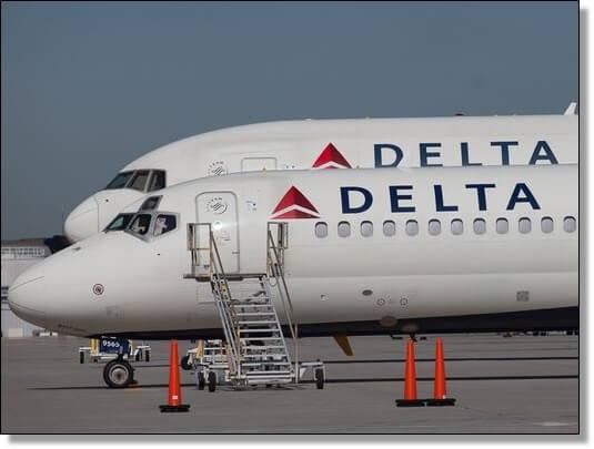 デルタ航空は既に撤退していた