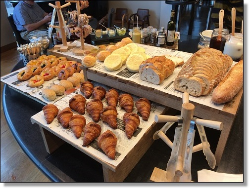コートヤード新大阪の朝食