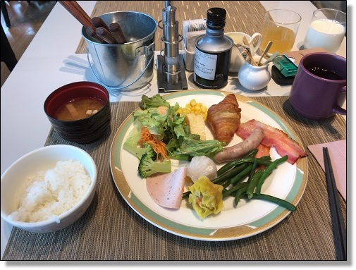 マリオット朝食