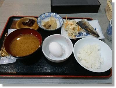 友達の朝食