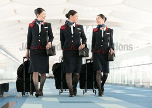 JALのCAさんの機内サービス