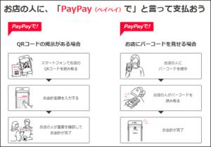 PayPayの利用方法