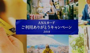 ANAカードご利用ありがとうキャンペーン