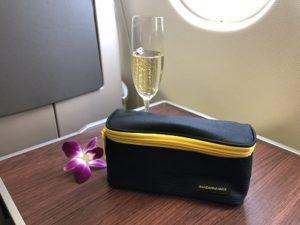 タイ航空のアメニティ