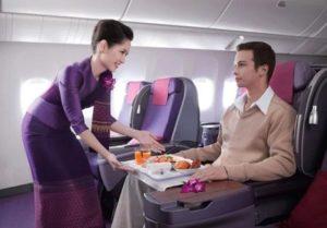 タイ航空のCAさんのサービス