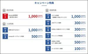 カード会社のキャンペーン2